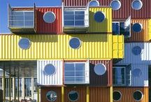 Shipping Container Houses / by Jonelle Cochran