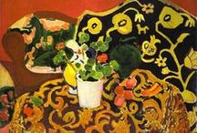 Art - Henri Matisse / Henri-Émile-Benoît Matisse (French: [ɑ̃ʁi matis]; 31 December 1869 – 3 November 1954) was a French artist, known for his use of colour and his fluid and original draughtsmanship. He was a draughtsman, printmaker, and sculptor, but is known primarily as a painter.[1] Matisse is commonly regarded, along with Pablo Picasso and Marcel Duchamp, as one of the three artists who helped to define the revolutionary developments in the arts during the opening decades of the twentieth century. / by Niki Cutler-Dague
