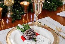 weddings ~ tablescapes / #weddings #tablescapes, #weddingdresses / by Marie Brewer