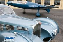 Bugatti / The Bugatti designs through the ages. The French Curves exhibit at the Mullin Automotive Museum in Oxnard, CA. / by Foreigner
