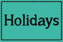holidays / by Erica Cammer