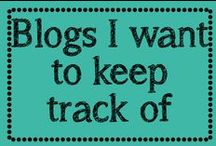 Blogs I want to keep track of / by Erica Cammer