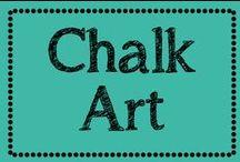 Chalk Art / by Erica Cammer