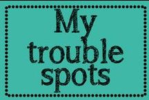Beauty (My trouble spots) / Exercises for my trouble areas / by Erica Cammer
