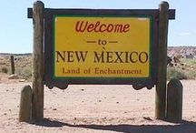 """New Mexico~Land Of Enchantment / I grew up in New Mexico so it will always hold a very special place in my heart!  I love the beauty of The Southwest, the different cultures and the New Mexico traditions.   I also acquired a great love for Native American turquoise jewelry.   I really, really like Mexican  (Tex-Mex) food and absolutely LOVE, LOVE,  LOVE, """"HATCH GREEN CHILE""""! / by Kristen Holliday"""