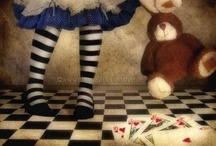 ~ALL AbOuT ALiCe~ / I remember watching the Disney version of Alice in Wonderland when my son was little....such a beautiful, fun film...There are all kinds of things to luv about Alice! / by ~kitchenwitch 04~
