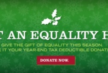 Equality Holiday  / Give the gift of Equality in the South. Make your year-end, tax deductible donation at EqualityNCFoundation.org. #equalityholiday / by Equality NC