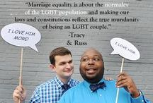 #MarriageMonday / We want to use #MarriageMonday to highlight LGBT couples! Tag your photos #MarriageMonday and we will Re-Pin!!  / by Equality NC