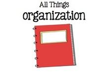 All Things Organization / by Boy Mama Teacher Mama