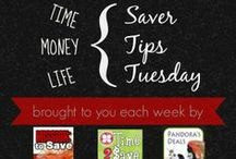 Saver Tips Tuesday / Come join us each Tuesday as Pandora's Deals, Time 2 Save Workshops and Mission to Save host a link up of your best  time, money and lifesaving tips!  #SaverTips / by Mary (Mission to Save)