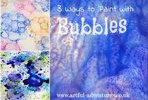 Work/Summer Bubbles / by Kristi Schwartzhoff
