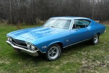 Classic Cars: Chevrolet Chevelle / by Colleen Owens