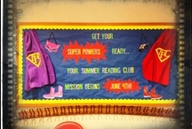 I Read...What's Your Superpower / These ideas inspired us while we planned our summer reading promotion party in May.  It's our Superhero theme. / by Jeni Tahaney