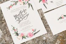 wedding: p a p e r / by Eleri Hofstetter