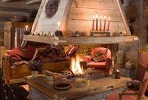 Living Space & Cozy Fireplace / by Coldwell Banker Peter Benninger Realty