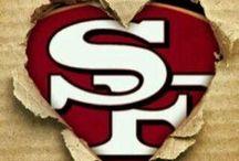~ S.F. 49ers Faithful ♥ ~ / by Bev Perez