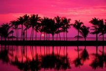 The Warmth Of Watching The Sun Rise And Set / by Melissa J