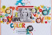 scrapbook layouts / by Marnie Nash Da Rosa