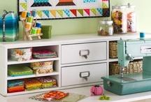 Craft Rooms / Storage Ideas / by OregonPatchworks Inc.