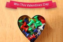 Valentine's Day - Pin To Win / Win with Fiverr this Valentine's Day in 3 easy steps: 1) Follow Fiverr on Pinterest. 2) Repin the Gigs you like best and add your Fiverr username in the description box. 3) Stand a chance to win 1 of 25 Fiverr Vouchers. / by Fiverr