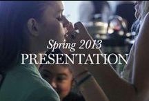 SPRING 2013: Presentation / The Elie Tahari Spring 2013 Presentation, New York, September 10, 2012 / by Elie Tahari