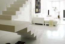 upstairs/downstairs / Staircases / by Monica L. Shulman