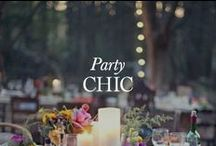 Party Chic / Cocktail recipes, roasted carrots, tablescapes and champagne. All that you need to entertain in style. / by Elie Tahari