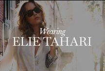 Wearing Elie Tahari / by Elie Tahari