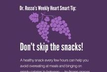 Dr. Russo's Heart Smart Tips / Check in every Wednesday for our Weekly Heart Smart Tips with Dr. Russo, IBX's medical director, and start making small steps to big, life saving change. / by Independence Blue Cross (IBX)