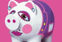 Piggy Banks / by Susan Lay