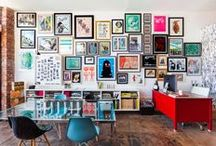 Home Love - Gallery Walls / Inspiration for my dream gallery wall / by Monika Houser Boyle
