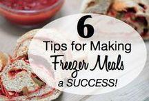 Homemaking- Freezer Meals  / by Jennifer Rikard