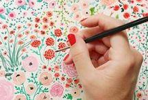 Floral patterning / by Ellery Tiller