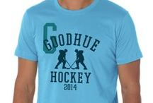 Hockey - Semi Customizable  / Skate into the high slot and showcase your team colors with a custom t-shirt from The Teehive! / by The Teehive Custom Apparel