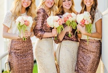 ~Mismatching Maids~  / Why not create your own wedding tradition. Who says bridesmaids have to wear the same dress. We say be who you are, be you and let your bridesmaids be themselves too. #Traditionallyme. You are on the honor code to pin your fave mismatching maids to this board. :-) Hustle Your Bustle  / by Hustle Your Bustle