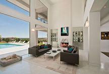Dream Interiors / Contemporary home interiors  / by Dr. Sue Molloy