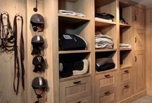 """Tack Rooms - Inspiring and Interesting / A collection of  """"wow"""" tack rooms for inspiration, and tips and tricks for making the average stable's tack room tidy and trendy!  / by Lindsay"""