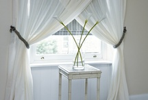 Window dressing / window treatments....Curtains, shades, shutters... / by Laurel Harness