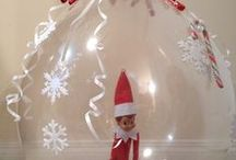 Elf on the Shelf- Jingle, Noel, and TInsel / by Amy Curtis