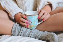 Mornings with MyTights / Grab your comfiest sweater, cozy knee highs and dive into bed. / by MyTights