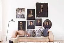 SALON HUNG ART / by Brittany Jepsen | The House That Lars Built