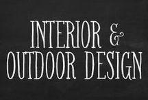 design // interior & outdoor ideas. / by Rachel Kennedy