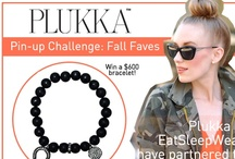 Plukka Pin-Up Challenge: Fall Faves / Enter our contest to win a $600 bracelet! http://www.plukka.com/staticpages/contest_pinupchallenge.html / by Plukka (Fine Jewelry)