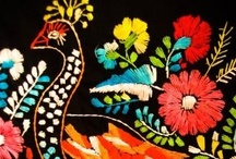 Mexican embroidery (& South American too!) / by Brittany Jepsen | The House That Lars Built