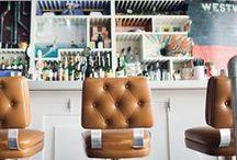 Cafés | Restaurants | Bars | Retail / Interior design / styling of Cafés, Restaurants, bars & shops  / by Issy Zinaburg
