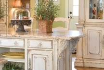 Kitchens / Islands /nooks / by Susan Edghill