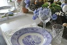 COLORS / Blue and White   / I  Have always loved Blue and white  / by Susan Edghill