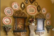Wall Decor / Plates , Mirrors Pictures, Home and Decor / by Susan Edghill