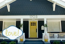 Exterior House Colors / by Stamping Out Loud