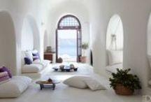 Mediterranean Inspired Homes / Laid-back, barefoot luxe, Mediterranean inspired homes & gardens / by Issy Zinaburg
